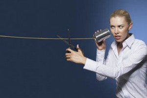 Bad sound means listeners will cut out early and often. Image courtesy of Business News Daily and SHutterstock.